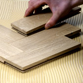 You can directly bond Engineered Flooring, Parquet Flooring and Solid Wood Flooring to Concrete Screed, Plywood and Chipboard sub floors.