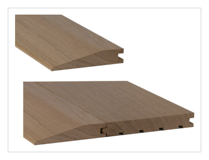 Solid Oak 20mm Reducing Ramp Architectural Joinery