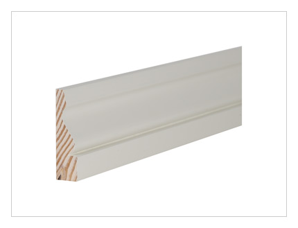 Pine ogee architrave