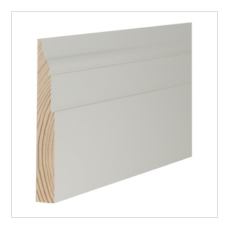 Pine skirting boards