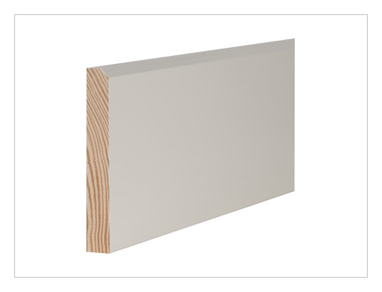 Pine 45° chamfer skirting board