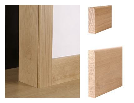 Solid Oak Pencil Round Architrave Architectural Joinery