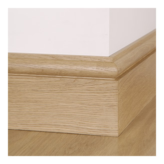 Architectural Joinery manufacture Solid Oak Skirting