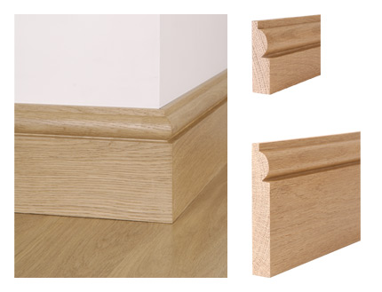 solid oak torus skirting board architectural joinery. Black Bedroom Furniture Sets. Home Design Ideas
